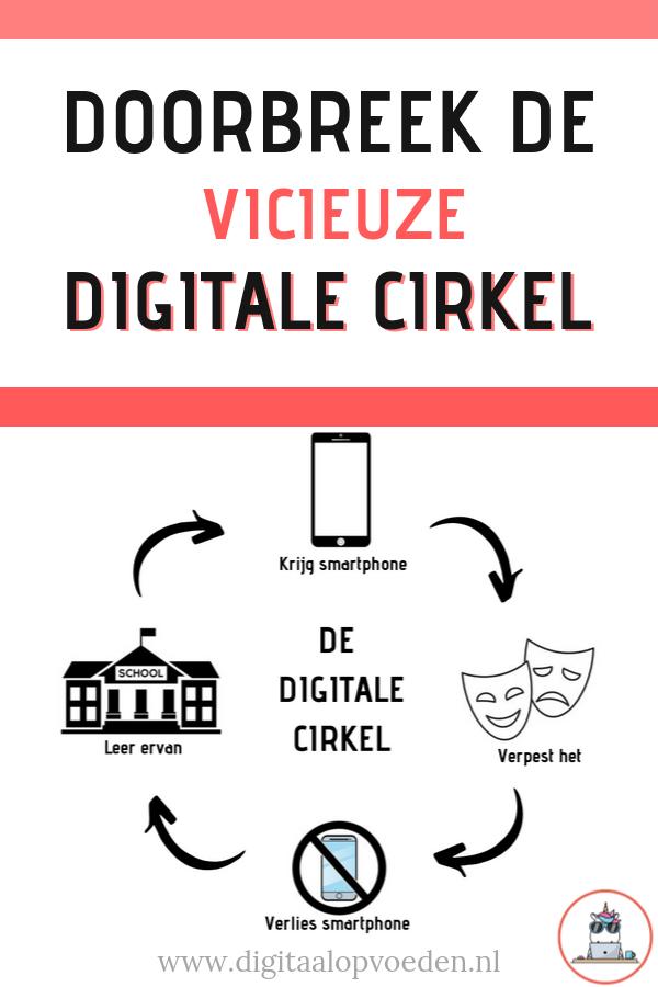 Doorbreek de vicieuze digitale cirkel waarbij straffen rondom de smartphone centraal staat. Met deze 5 tips voorkom je het gevecht rondom smartphonegebruik.