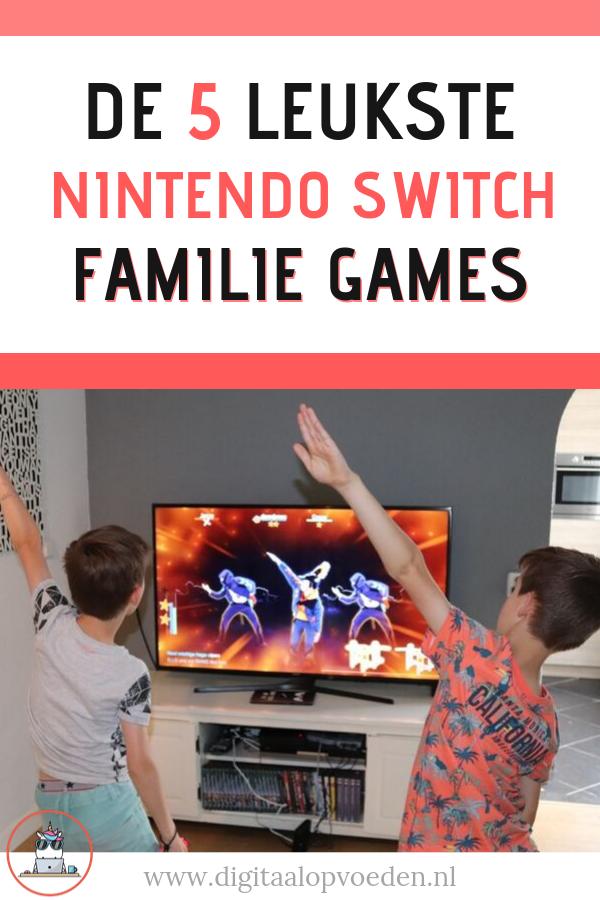 Nintendo Switch games voor de hele familie zijn er meer dan genoeg! In dit overzicht vind je de vijf leukste Nintendo multiplayer games voor de familie.