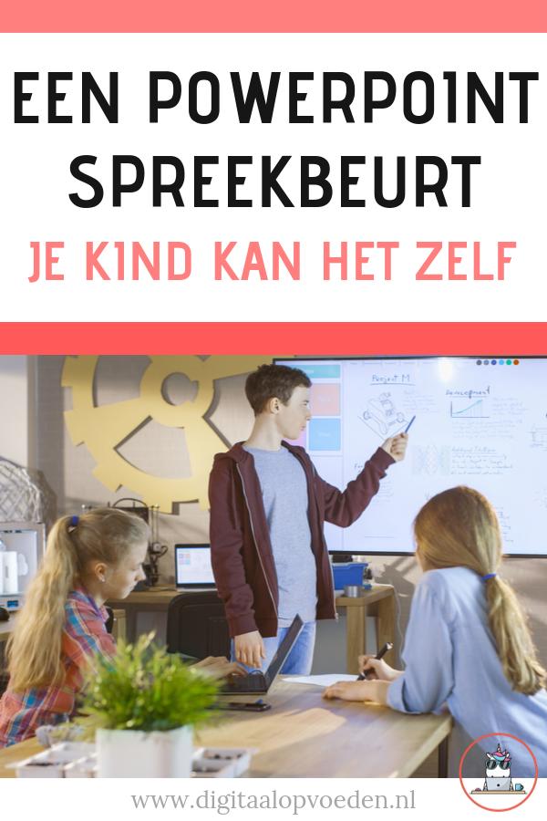 Je kind kan zelf een PowerPoint presentatie maken: het is niet moeilijk en zeker met een beetje hulp maakt je kind zo zelf een PowerPoint spreekbeurt.