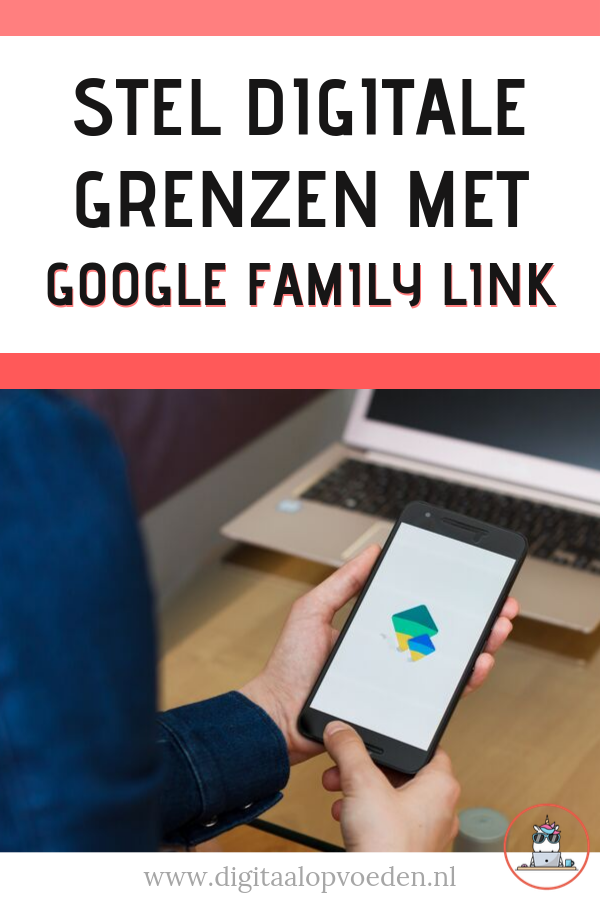 Google family link is een app voor digitale monitoring van je kind. Digitale opvoeding