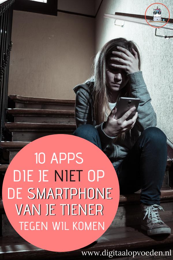 Deze 10 gevaarlijke apps voor tieners moet jij als ouder herkennen! Sommige apps kunnen zelfs beter verwijderd worden van de smartphone van je tiener.