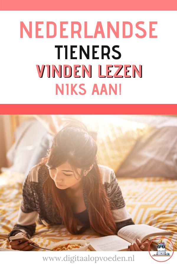 Deze maand kwam in het nieuws dat Nederlandse tieners van 15 jaar slechter zijn gaan lezen. Bijna 25% van de tieners kan niet begrijpelijk lezen.