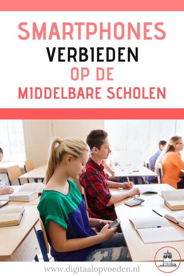 In Nederland is er geen wet rondom smartphones verbieden op scholen. Dit in tegenstelling tot bijvoorbeeld Frankrijk, waar het verboden is op de middelbare.