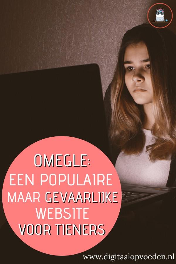 Omegle is een site waar je kunt chatten met vreemden. Maar Omegle zorgt met name voor pornografische beelden waar tieners mee in aanraking komen.