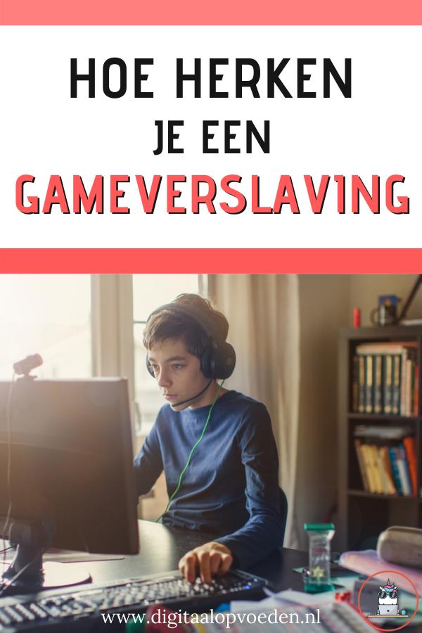 Een gameverslaving is een verslaving aan gamen. Het voelt voor de gamer als een gewoonte om te gamen. In Corona tijd wordt je kind sneller gameverslaafd.
